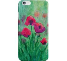 Watercolour Poppies iPhone Case/Skin