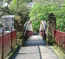 Jubilee Bridge, Matlock Bath by Rod Johnson