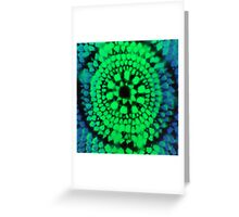 Scale Mandala 3 Greeting Card