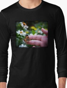 A Butterflys Love Long Sleeve T-Shirt