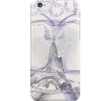 snow moth iPhone Case/Skin