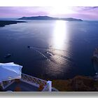 Sunset in Santorini by John44