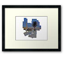 Saltaire Mill Framed Print
