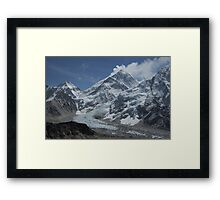 Mount Everest from Kala Patar Framed Print
