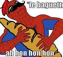 Spidermanbaguette by Wagapiggy