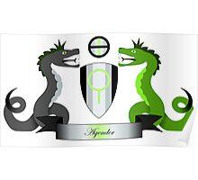 Agender Crest Poster