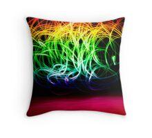 Rainbow #2 Throw Pillow