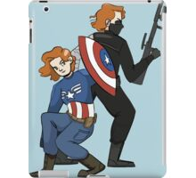 Cap!Nat and Winter!Nat iPad Case/Skin