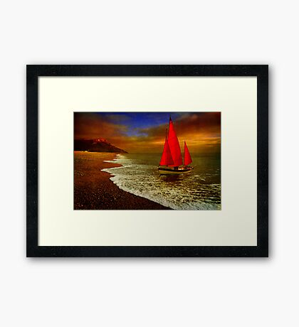 Seaton Sail Framed Print