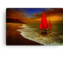 Seaton Sail Canvas Print