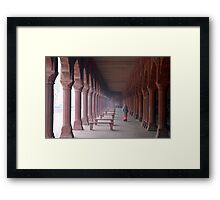 Indian woman Framed Print