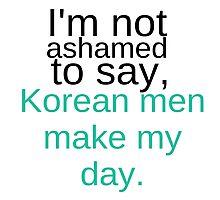 Korean Men Photographic Print