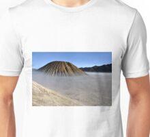 Gunung Bromo valley in fog Unisex T-Shirt