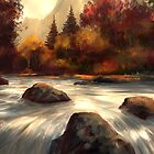 Autumn Stream  by twhiteart