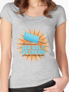 Sea Salt Ice Cream Women's Fitted Scoop T-Shirt