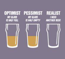 Realist Beer Glass Kids Clothes