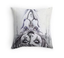 ink & paper 3 Throw Pillow