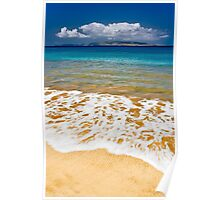 Beach in Hawaii - Wailea, Maui Poster