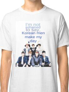 Korean men - BTS Classic T-Shirt