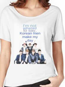 Korean men - BTS Women's Relaxed Fit T-Shirt