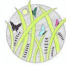 Dusk Butterflies by Kelly Robinson