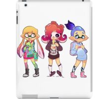 Splatoon Fashionistas iPad Case/Skin