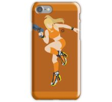 Zero Suit Samus (Zero Mission - Orange) - Super Smash Bros. iPhone Case/Skin