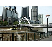 Pedestrian bridge Photographic Print