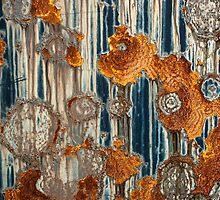 Rust Splatter by Barbara Ingersoll