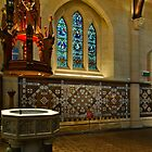 Christchurch - Baptismal Font by Werner Padarin