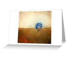 jacaranda in field Greeting Card