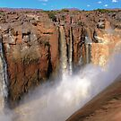 Augrabies falls, the rainy season by Rudi Venter