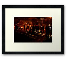 Broken by Trained Personnel Framed Print