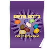 Bertie Bott's Every Flavour Beans - Harry Potter Poster