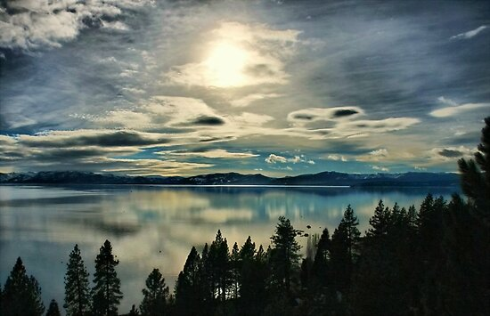 Tahoe Blues by Barbara  Brown
