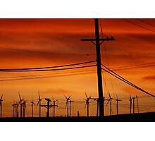 Mojave Sunset Photographic Print