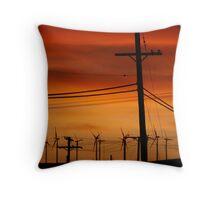 Mojave Sunset Throw Pillow