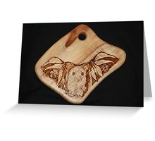 Possum in the Gums on a Chopping Board Greeting Card