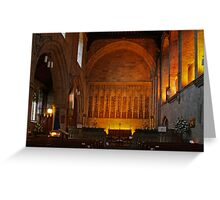 St. Mary & St. Cuthbert, Bolton Abbey Greeting Card