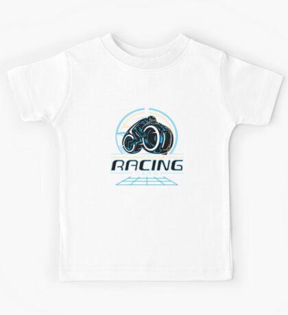 Light Cycle Racing Kids Tee