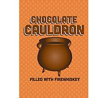 Chocolate Cauldron - Harry Potter Photographic Print