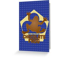 Chocolate Frog - Harry Potter Greeting Card