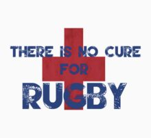 There Is No Cure For Rugby T Shirt Kids Clothes