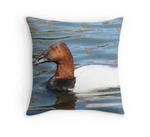 Canvas Back ~ Male Throw Pillow