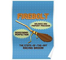 Firebolt - Harry Potter Poster