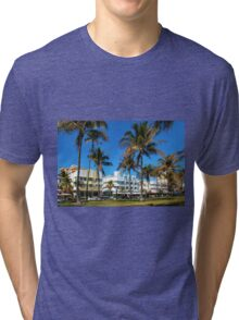 Art Deco architecture in Miami South Beach, Florida Tri-blend T-Shirt