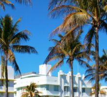 Art Deco architecture in Miami South Beach, Florida Sticker