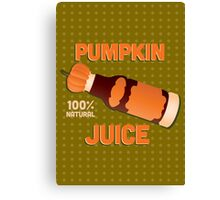 Pumpkin Juice - Harry Potter Canvas Print