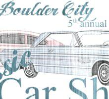 Boulder City classic car show  Sticker