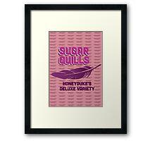 Sugar Quills - Harry Potter Framed Print
